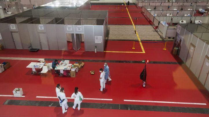 Hospital provisional en Ifema.