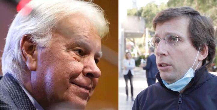 Felipe González elogia la actitud de Almeida frente a la crisis del coronavirus