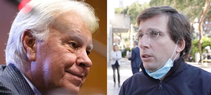 Felipe González elogia la actitud del alcalde de Madrid frente a la crisis del coronavirus