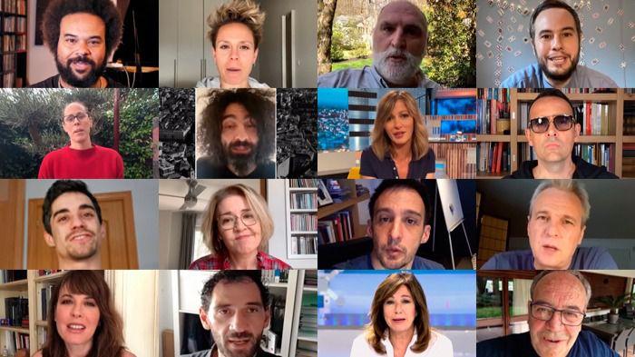 'Madrid, ciudad de valientes': más de 50 personajes populares envían un mensaje de ánimo a la capital