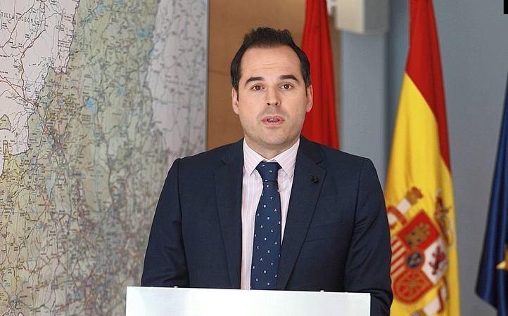 Vicepresidente de la región madrileña, Ignacio Aguado, compadece tras el Consejo de Gobierno por videollamada