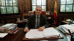 Enrique Múgica, ex ministro de Justicia