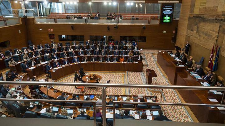 La Asamblea de Madrid celebrará un Pleno el 23 de abril