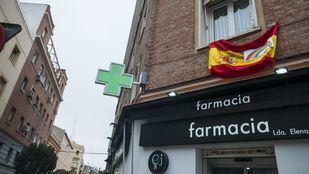 Farmacia, en una foto de archivo