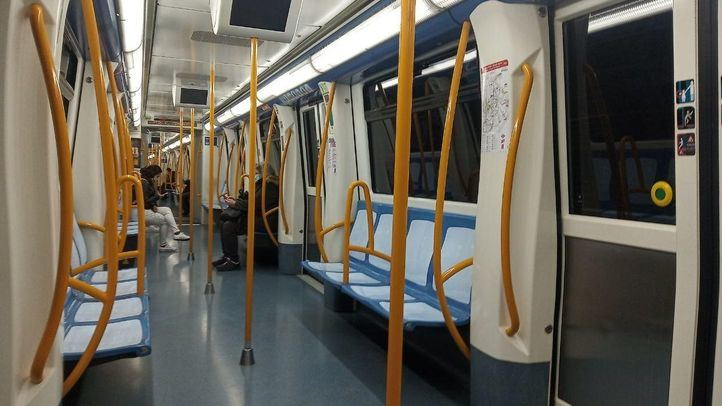 Metro de Madrid este lunes