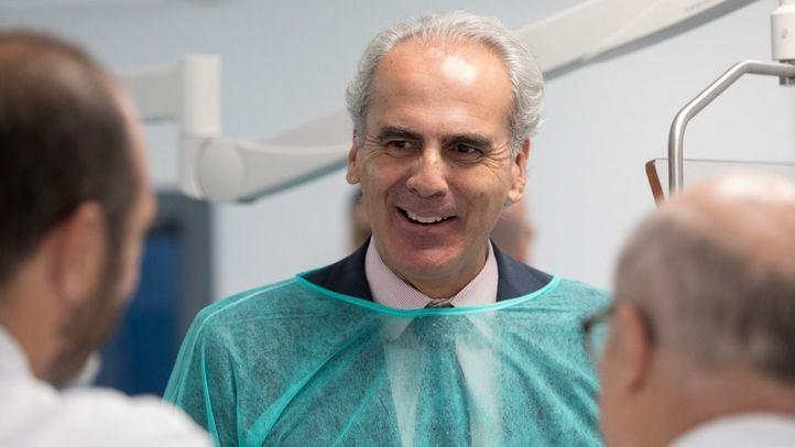 El consejero de Sanidad, Enrique Ruiz Escudero, esta tarde en Onda Madrid