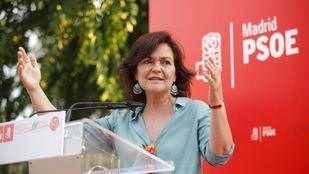 Carmen Calvo se reincorpora al trabajo tras superar el coronavirus