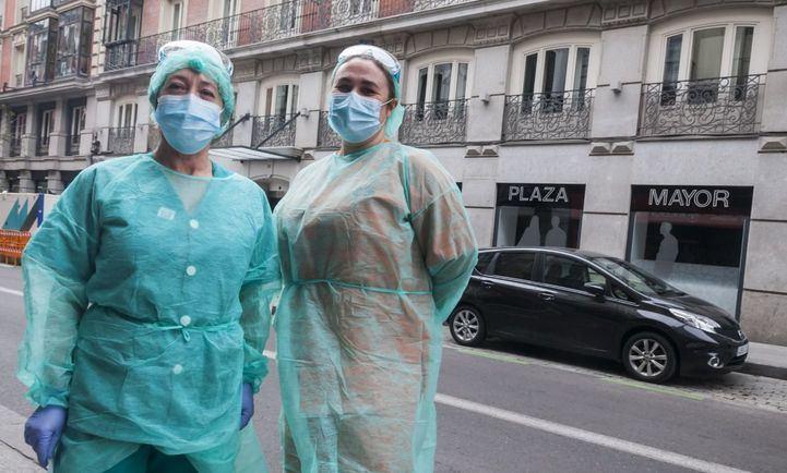 Así es la vida en los hoteles abiertos para alojar a pacientes y sanitarios