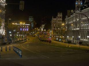 Las imágenes más impactantes de Madrid vacío