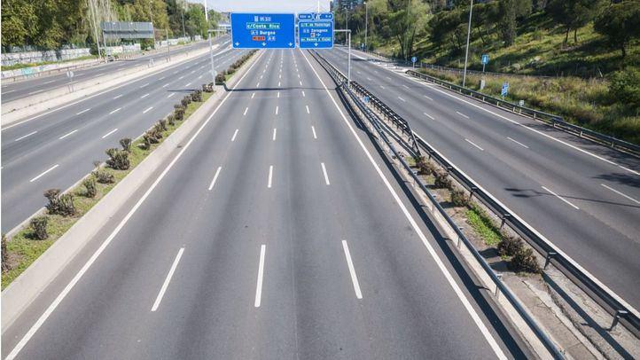 Aumenta el tráfico en hora punta en la M-30 un 41,2% respecto al miércoles pasado