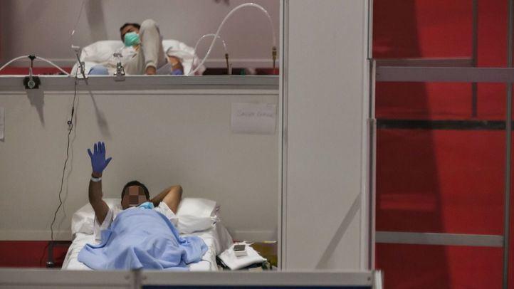 Pacientes en el hospital de Ifema.