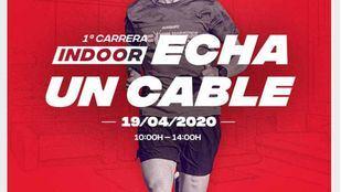 Primera carrera indoor 'EDP Echa un cable'