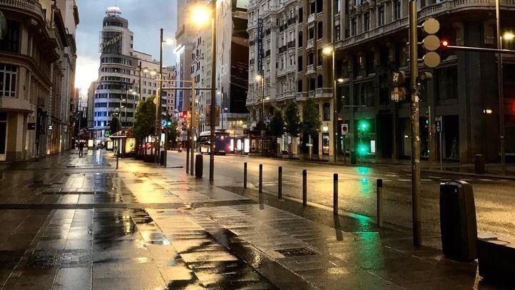 Aemet activa la alerta amarilla por fuertes lluvias