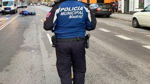 Agente de la Policía Municipal, en una foto de archivo