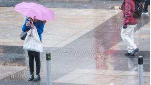 Aviso amarillo por lluvias y tormentas durante toda la tarde