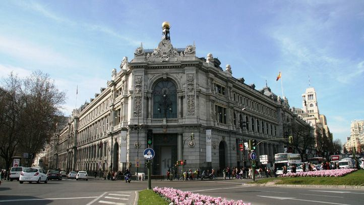 Banco de España, en la calle Alcalá