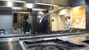 El Atlético de Madrid cede las cocinas del Wanda para preparar menús para población vulnerable
