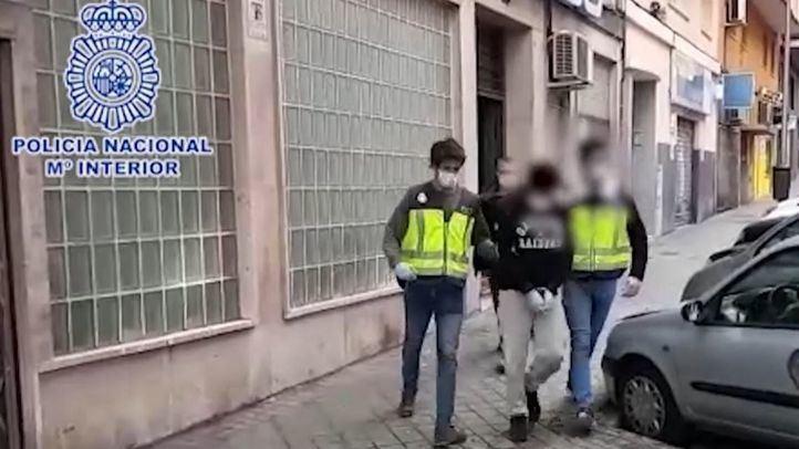 Detenido por vender drogas a domicilio a través de una empresa de reparto