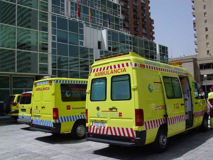 Ambulancia del SERMAS