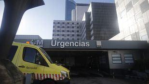 Herido muy grave un obrero al caerse de una altura de 30 metros en el Paseo de la Castellana