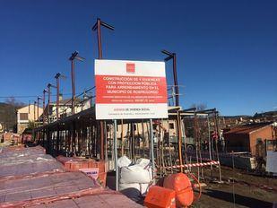 Imagen de proyecto de construcción de viviendas en la Sierra Norte.