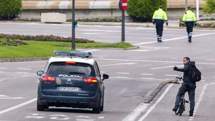 La Policía interpuso ayer 499 sanciones y detuvo a 19 personas