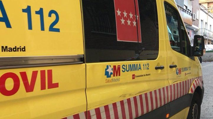 Ambulancia del SUMMA.