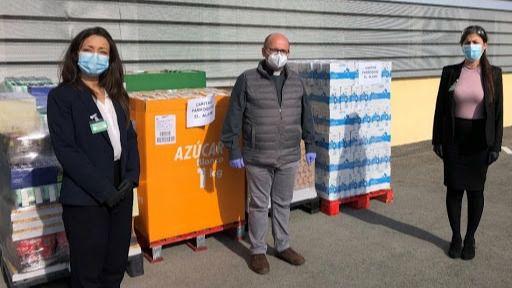 Mercadona dona más de 5 toneladas de productos de primera necesidad a Cáritas de Valdemorillo y El Álamo