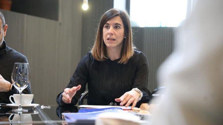 La concejala delegada del área de Deporte, Sofía Miranda.