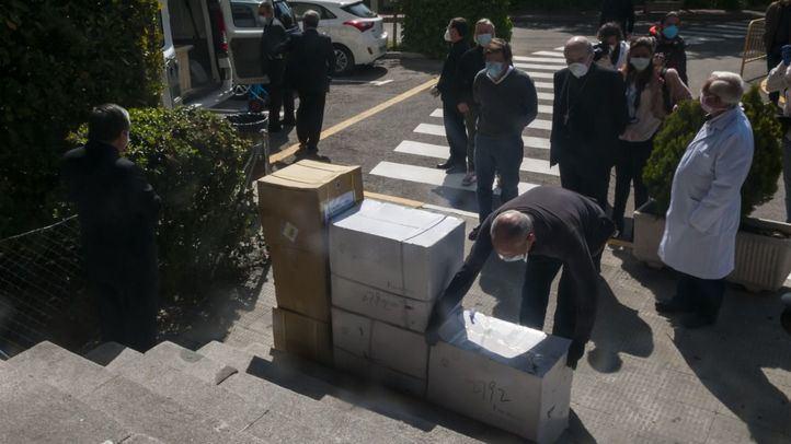 El Papa Francisco dona material sanitario a la ciudad de Madrid