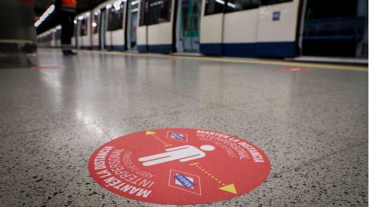 Metro de Madrid amplía sus servicios en hora punta a partir de este lunes