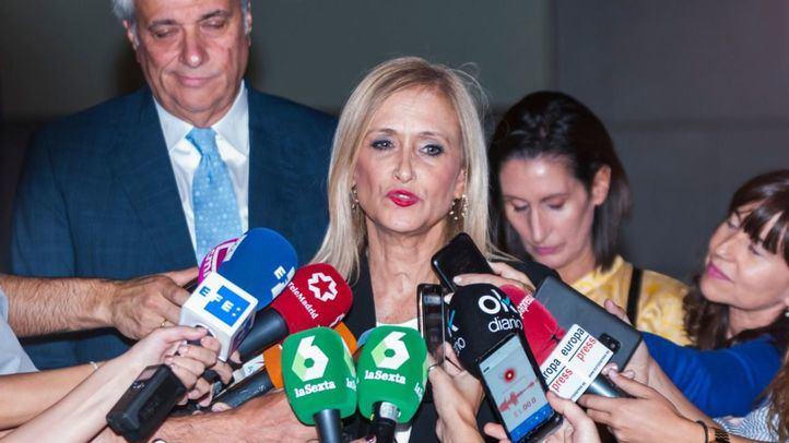 La Audiencia de Madrid suspende el juicio previsto en mayo contra Cifuentes por el Caso Máster