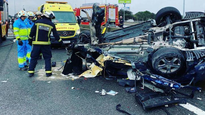 Caen a la mitad los accidentes de tráfico en marzo