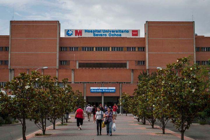 Hospital Universitario Severo Ochoa de Leganés.