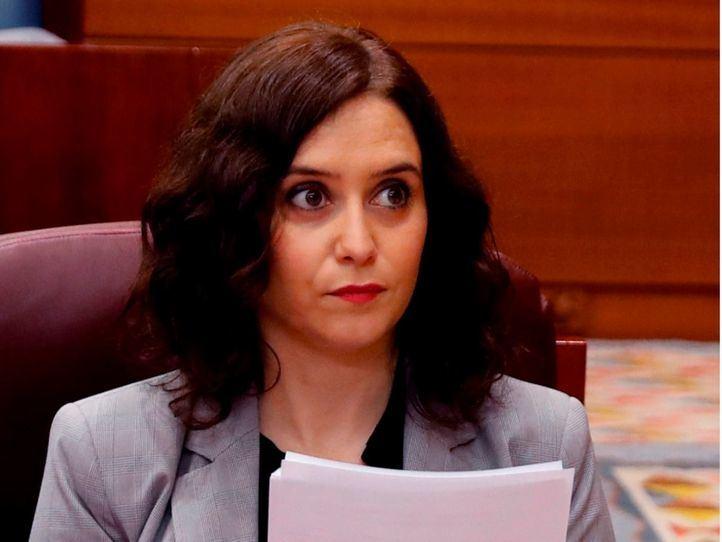 """Ayuso en la Asamblea: """"La Comunidad de Madrid fue la que despertó a España"""""""