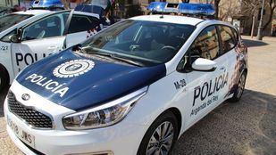 Coche de la Policía Local de Arganda del Rey.