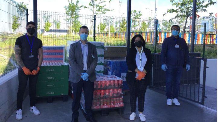 Mercadona dona más de 5.700kg de productos de primera necesidad a Cáritas de Griñón y al comedor social Avalso de Valdemoro