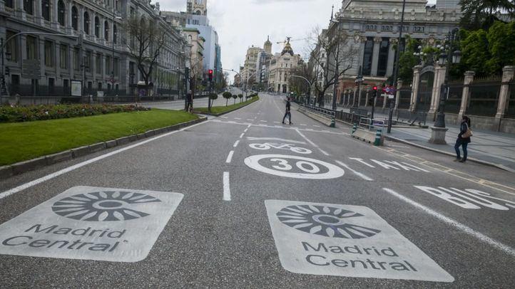 Un juez anula una multa a un conductor por acceder a Madrid Central con autorización APR caducada