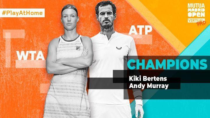 Murray y Bertens también son campeones virtuales del Mutua Madrid Open