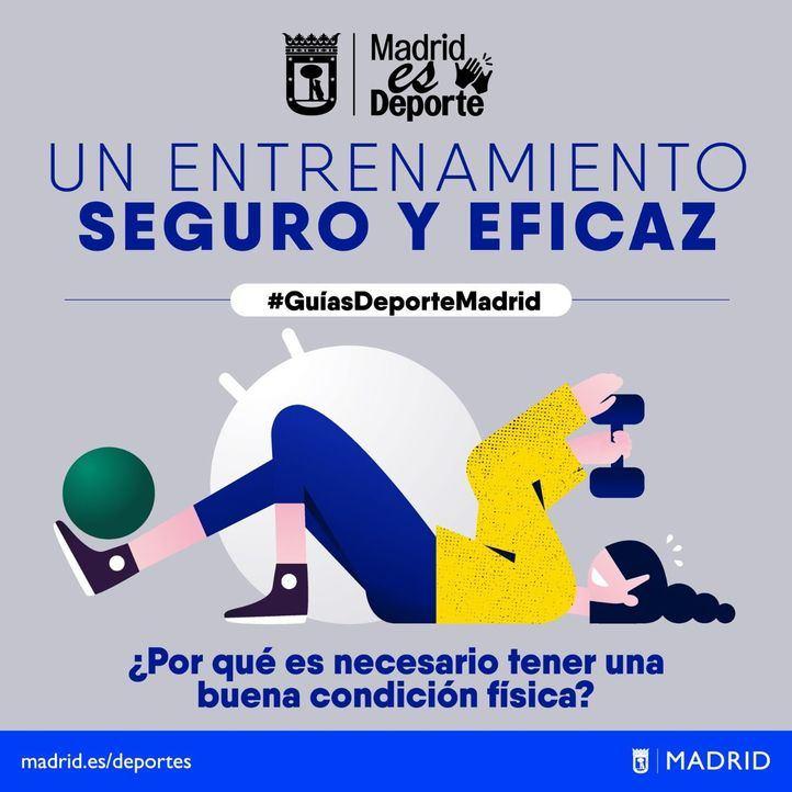 El Ayuntamiento de Madrid presenta una guía con recomendaciones para la vuelta al deporte en la calle