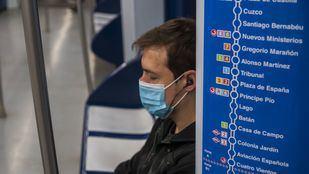 El uso de mascarilla en el transporte público, obligatorio a partir de este lunes