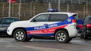 Coche de la Policía local de San Sebastián de los Reyes