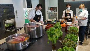 Miele ofrece sus cocinas del Experience Center de Alcobendas para ayudar a familias vulnerables