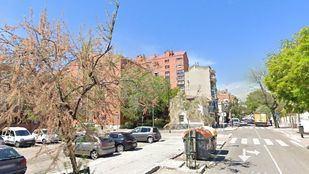 Avenida de los Fueros, en San Fermín