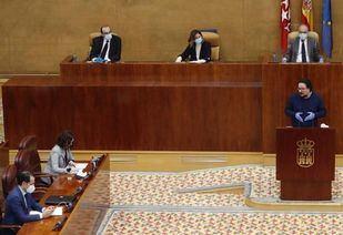 Jacinto Morano interviene en el Pleno de la Asamblea sobre la gestión del Covid-19