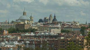 Madrid durante el confinamiento, sin polución