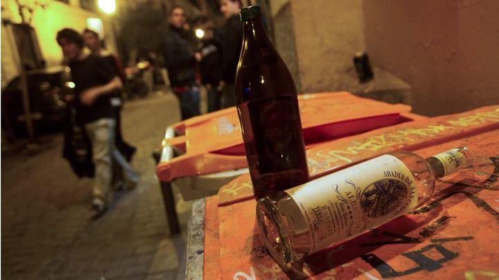 La Policía Municipal interviene en 70 botellones a lo largo del fin de semana