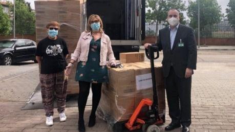 Mercadona dona a Cáritas de Madrid 14.800 pañales