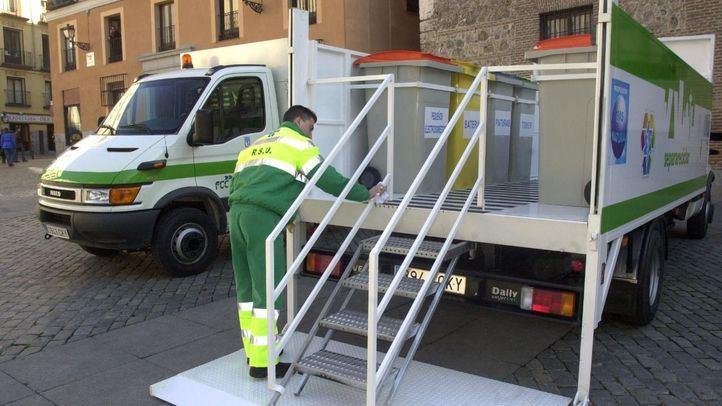 El Ayuntamiento reabre los puntos limpios móviles