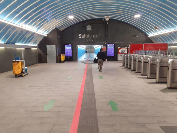 Cercanías señaliza sus principales estaciones con encaminamientos para mejorar el flujo de viajeros